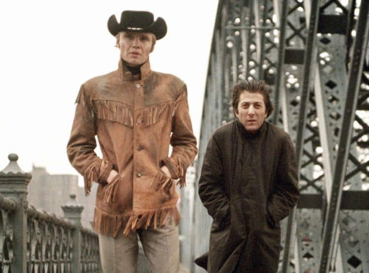 Jon Voight and Dustin Hoffman in Midnight Cowboy