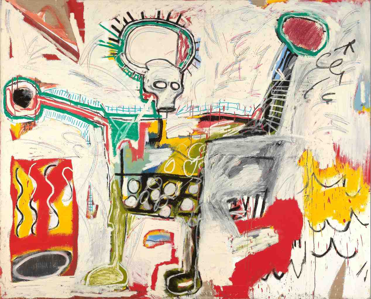 Jean-Michel Basquiat 'Untitled 1982'