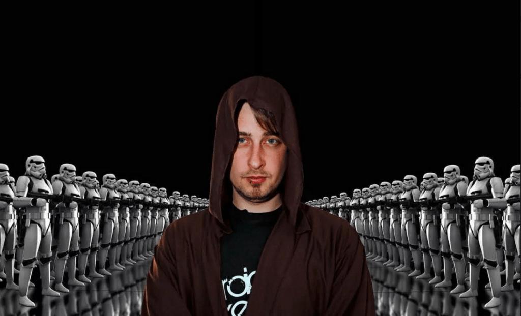Head of The Church of Jediism Daniel Jones