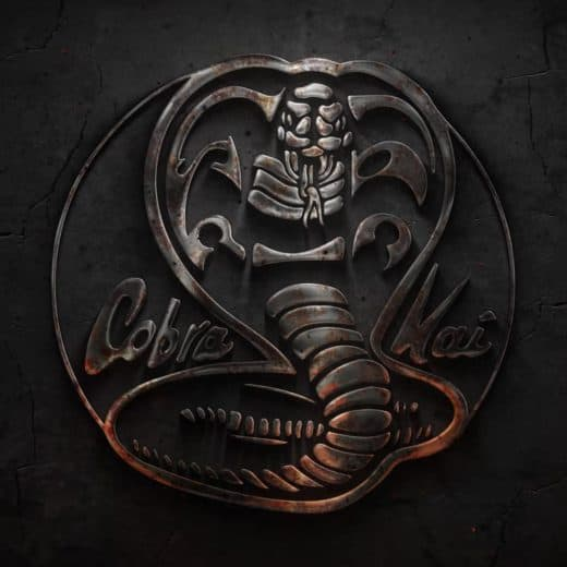 The cobra kai logo