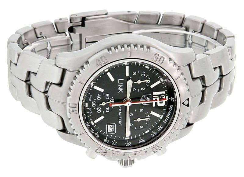 TAG Heuer Link Chronograph: Model CT1111.BA0550