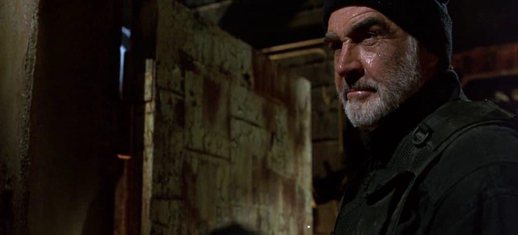 John Patrick Mason makes his way through the tunnels of Alcatraz