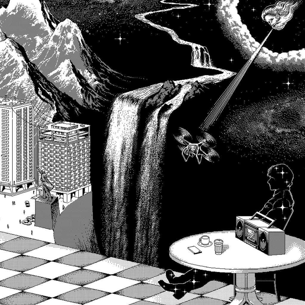 Gruff Rhys Babelsberg album cover