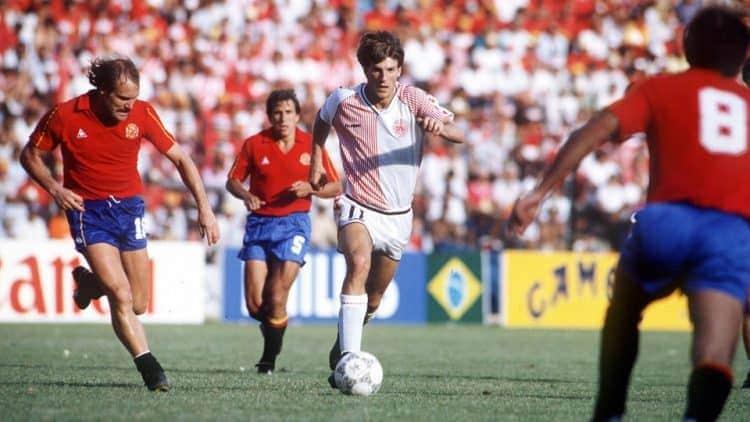 Iconic football kits - Denmark 1986