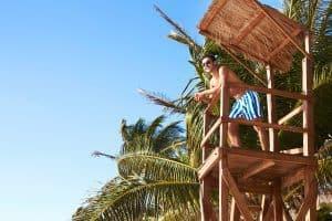 dock & bay model in watch tower