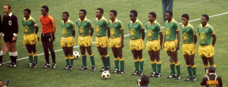 Iconic football kits - Zaire 74