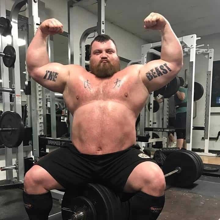 Strongman Eddie Hall