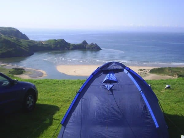 Three Cliffs Bay Campsite