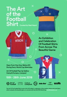 Art of the Football Shirt book cover