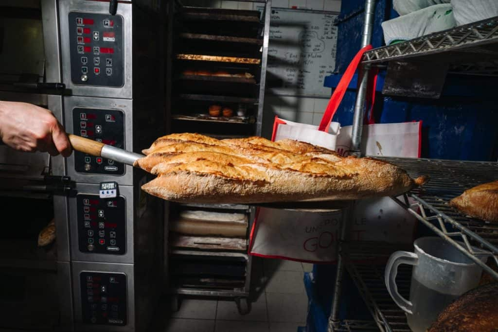 Baltic Bakehouse baguettes