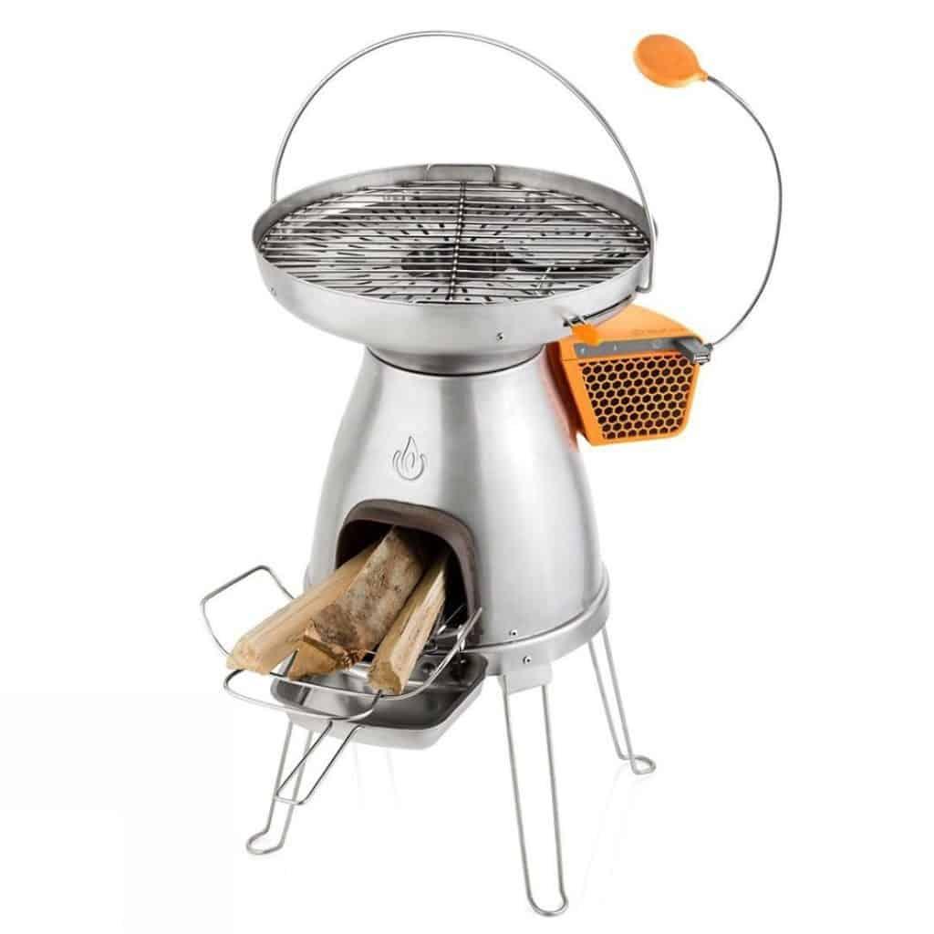 Camping bio stove