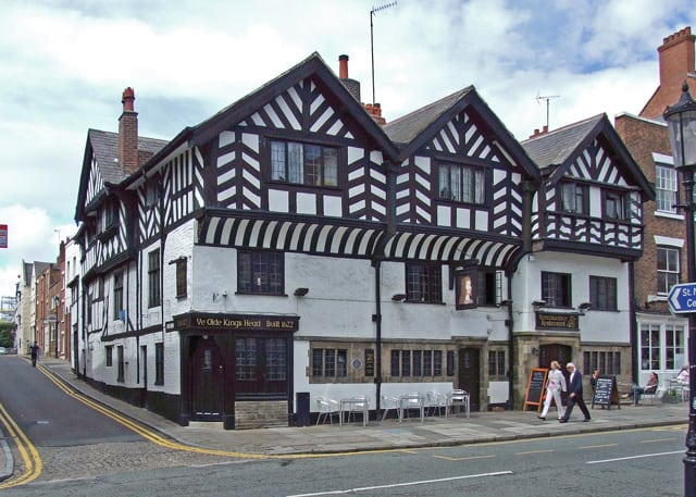 One of the most haunted pubs in Britain - Ye Olde Kings Head