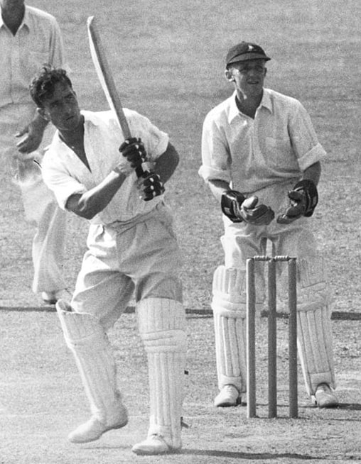 Denis Compton and George Fullerton