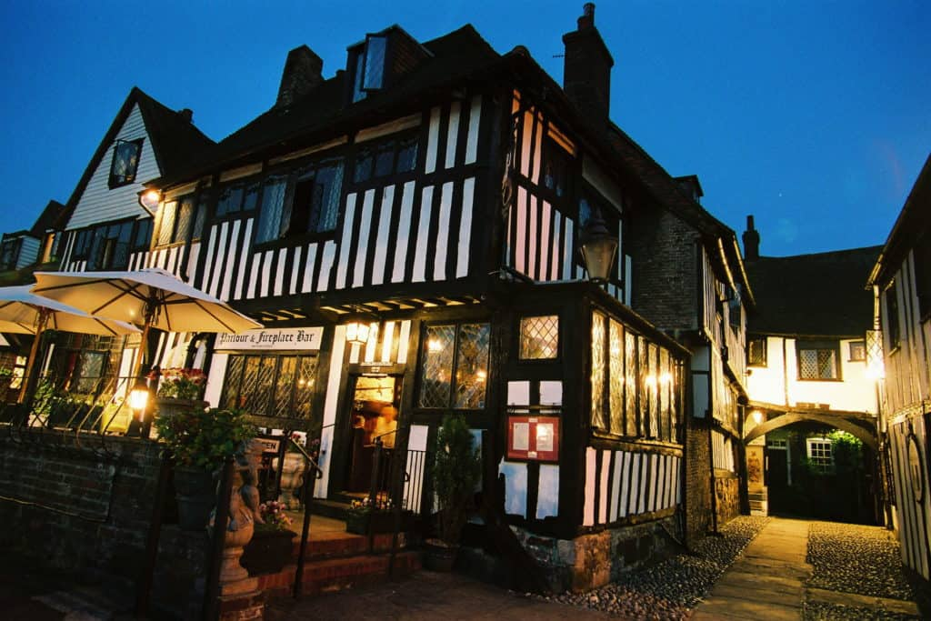 One of the most haunted pubs in Britain - The Mermaid Inn