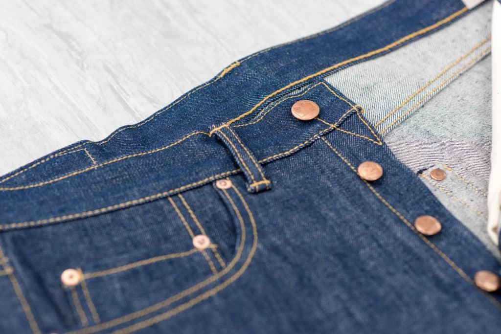 Blackhorse Lane jeans buttons