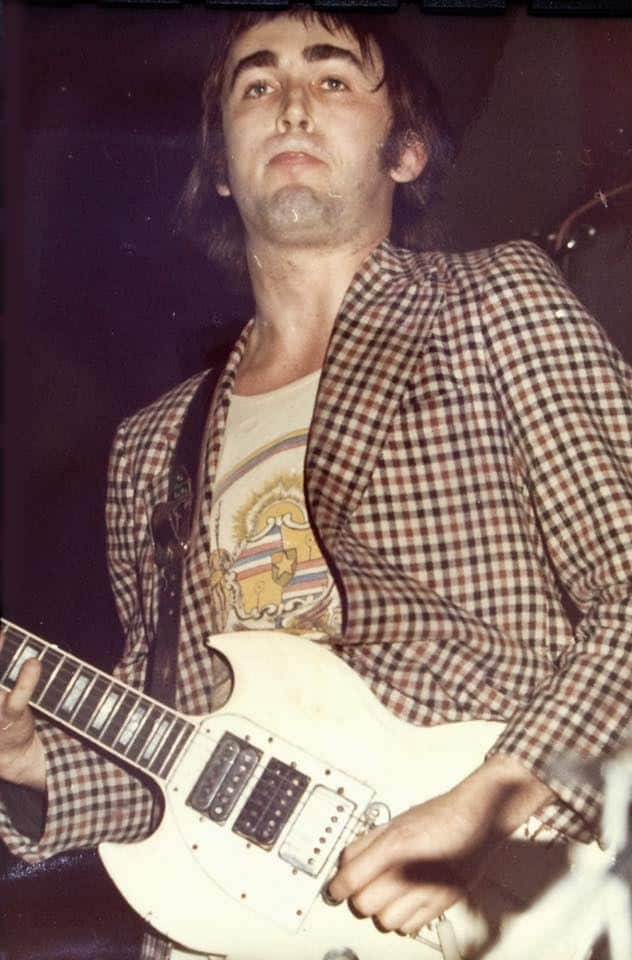 Ollie Halsall who was in The Rutles