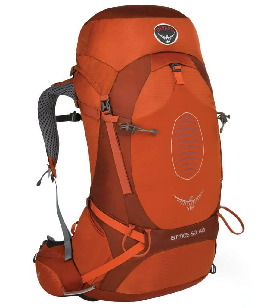 Camping backpack from Osprey
