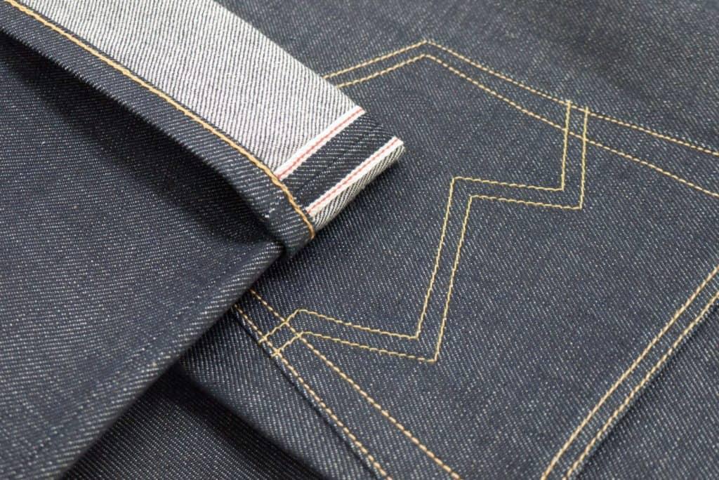 Blackhorse Lane jeans close up