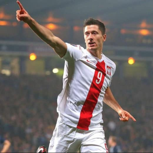 Potential World Cup Golden Boot winner Robert Lewandowski