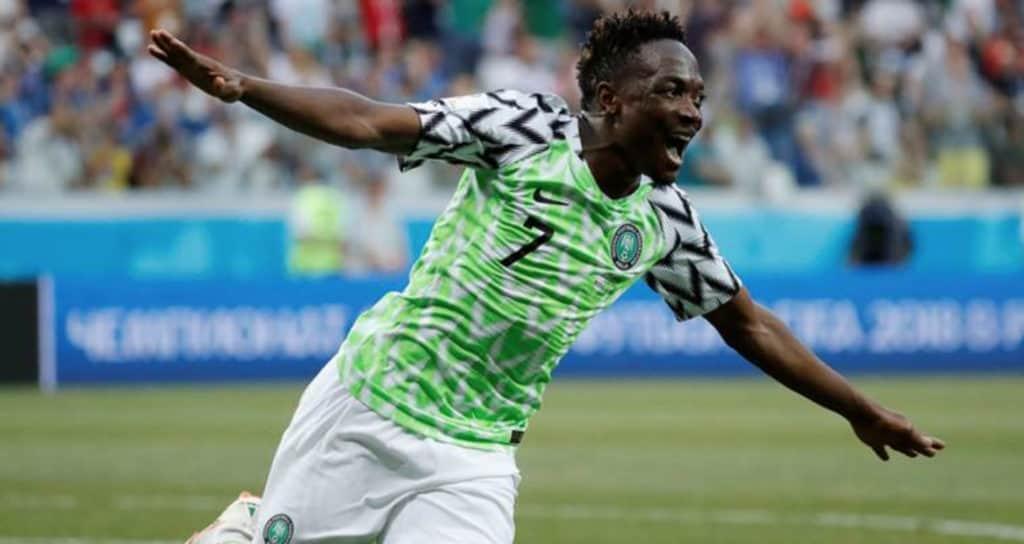 Nigeria World Cup Football shirt