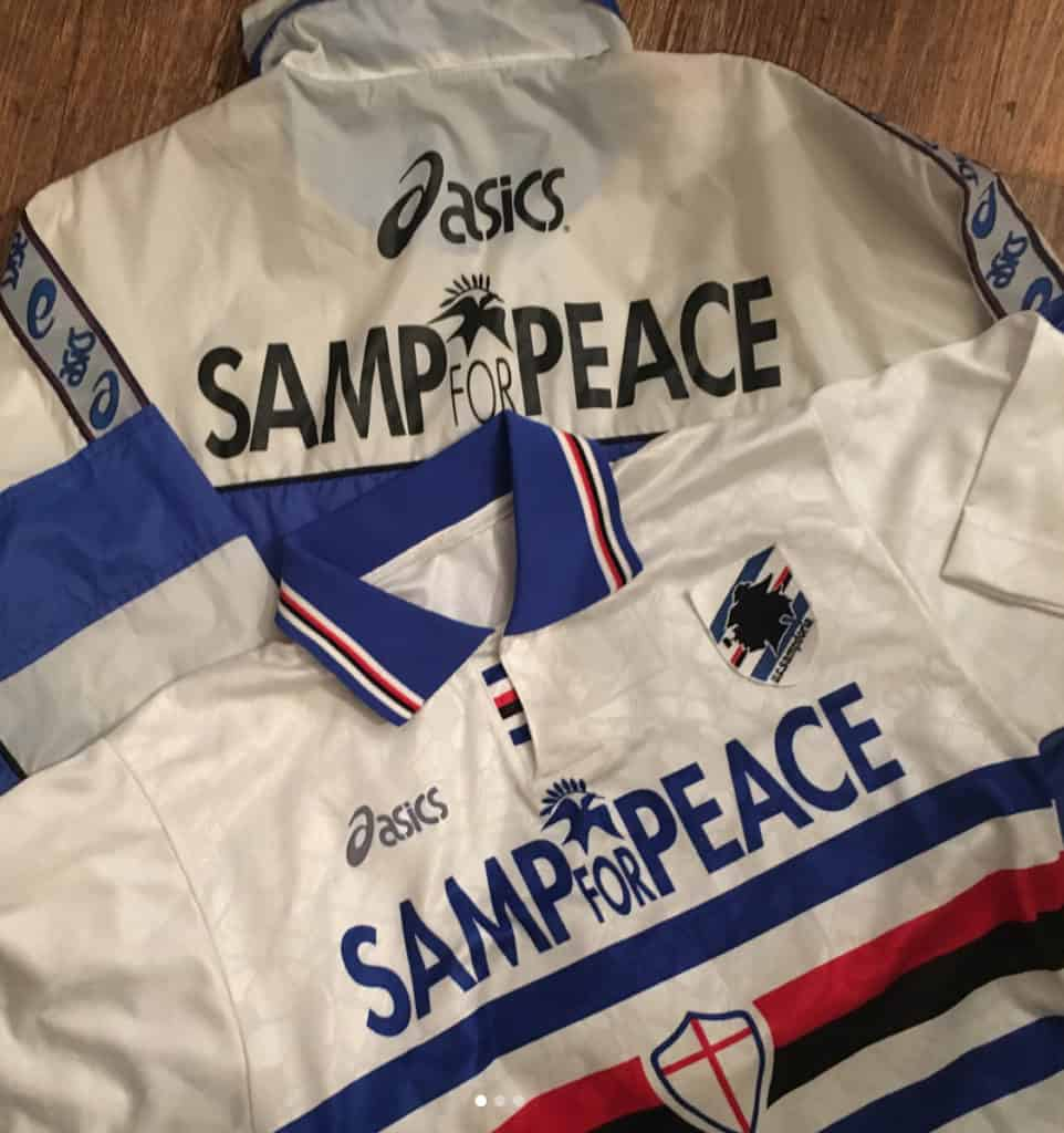 Sampdoria football shirt