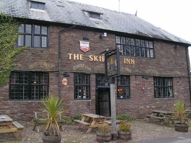 One of the most haunted pubs in Britain - The Skirrid Inn
