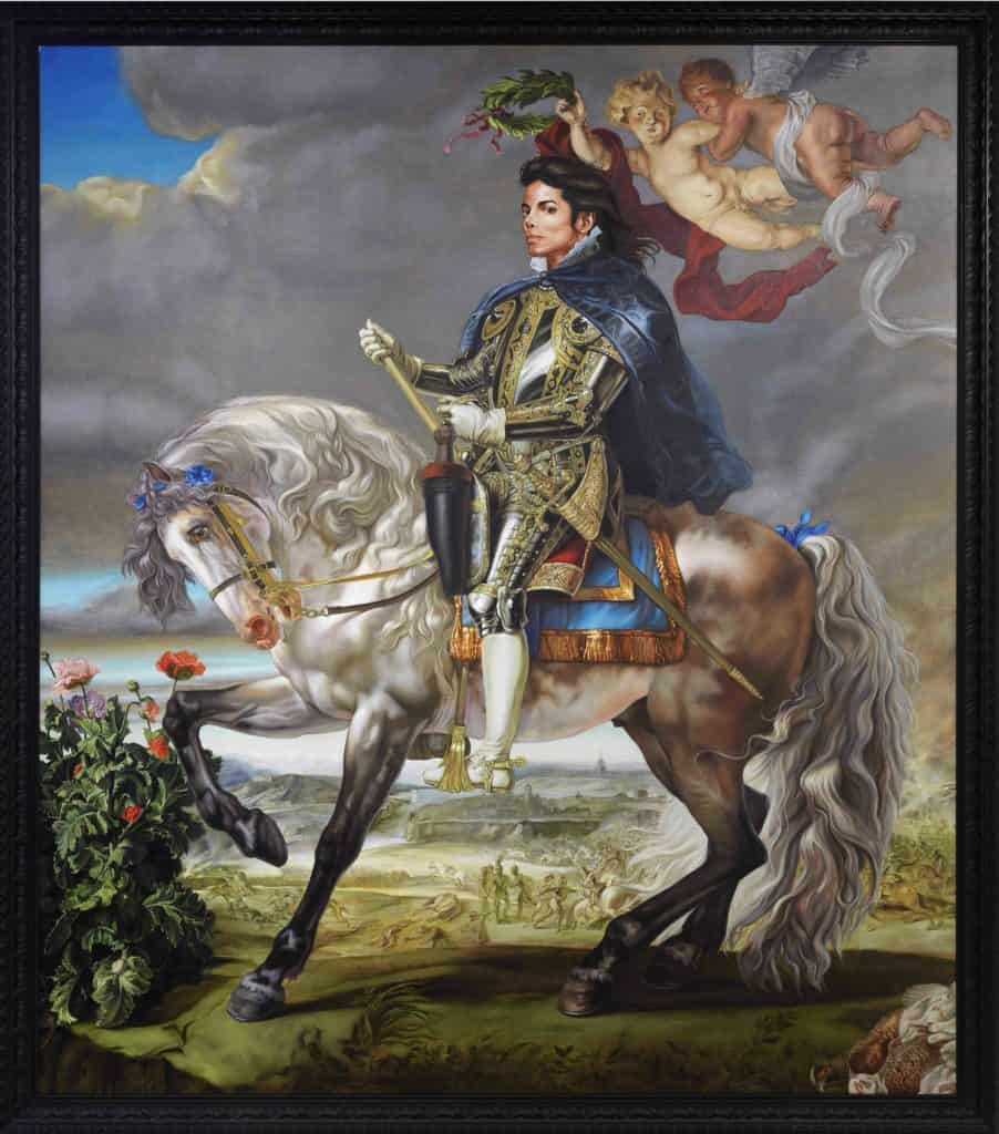 Michael Jackson by Kehinde Wiley