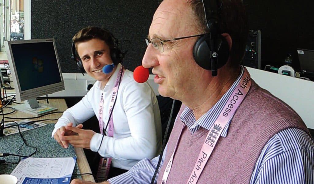 James Taylor on Test Match Special
