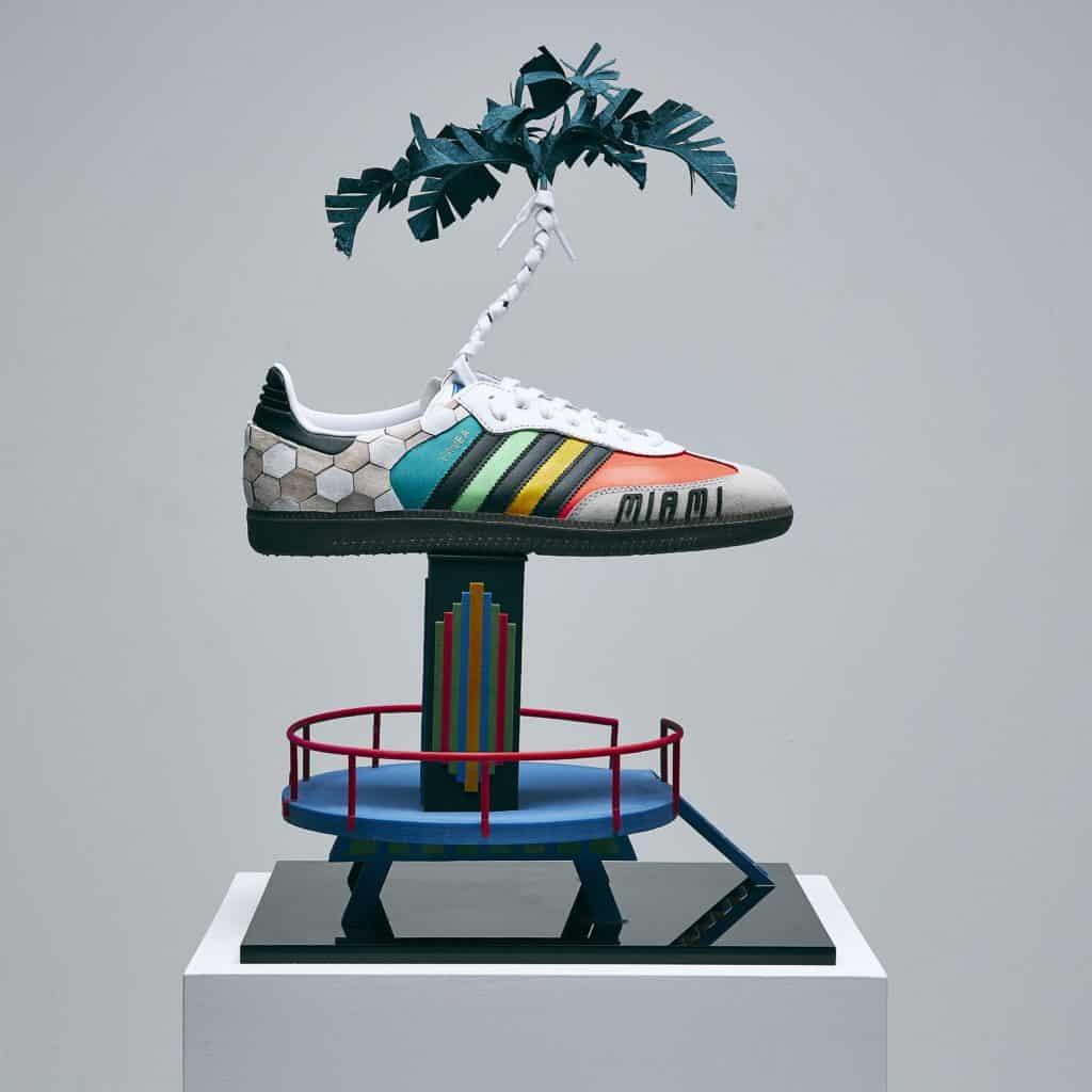 David Beckham adidas Pride Shoe