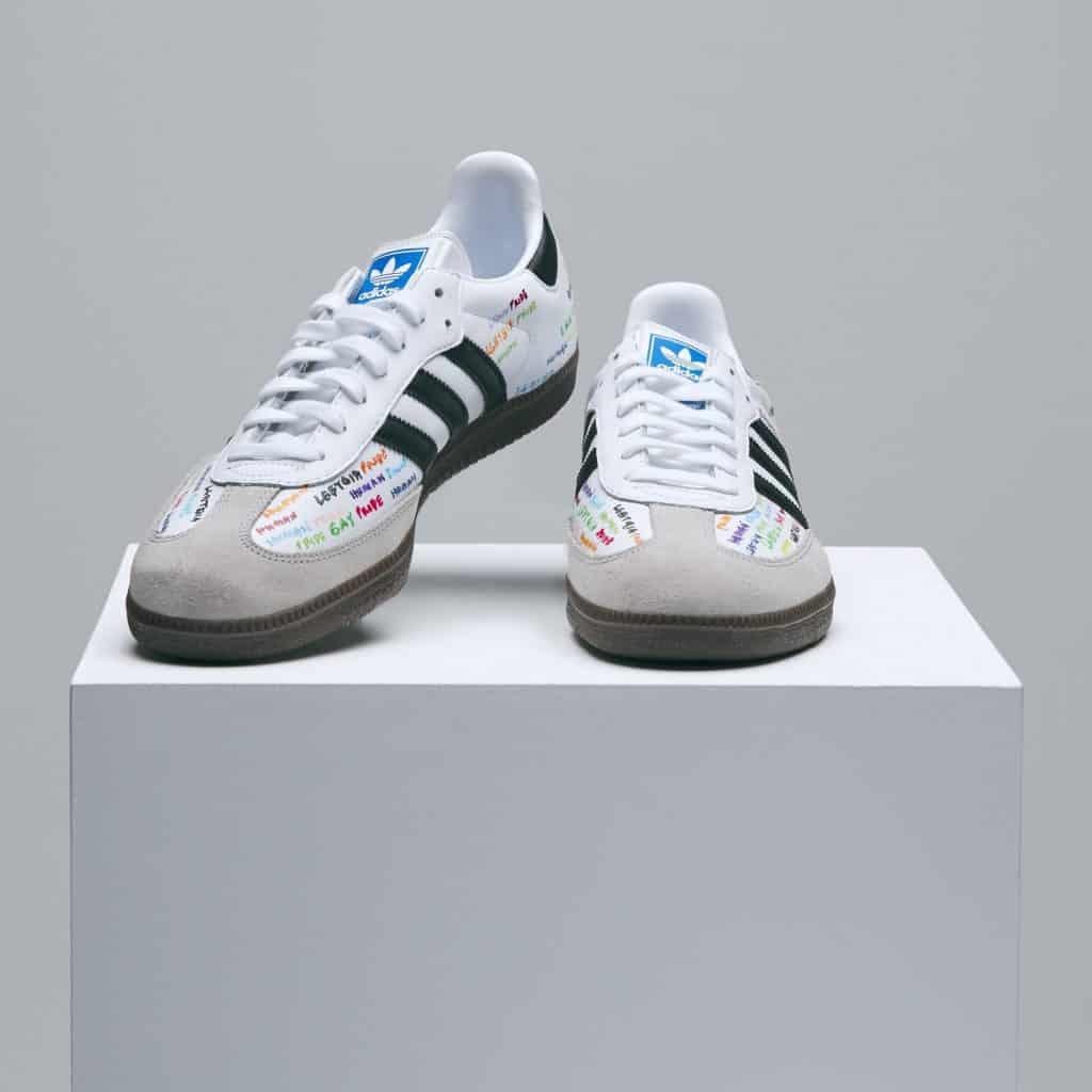 Pharrell Williams adidas Pride Shoe