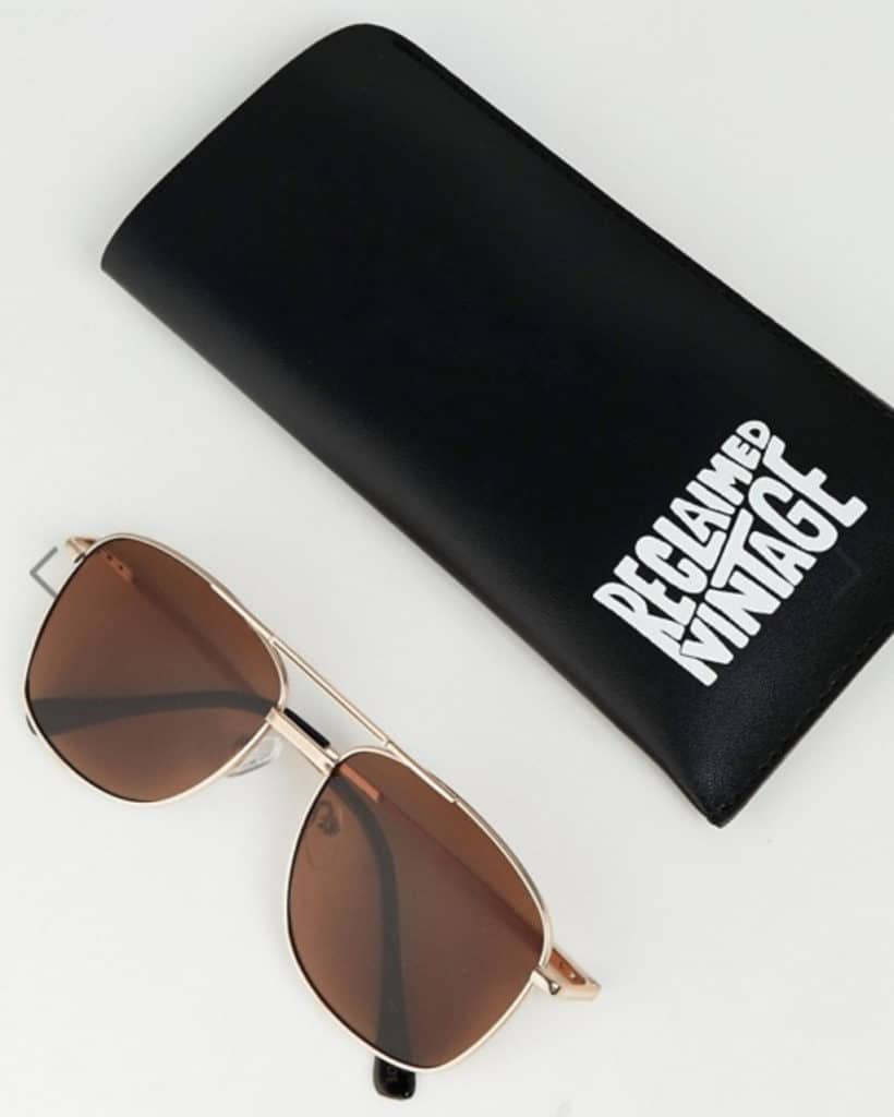 Summer style essential gold aviator sunglasses