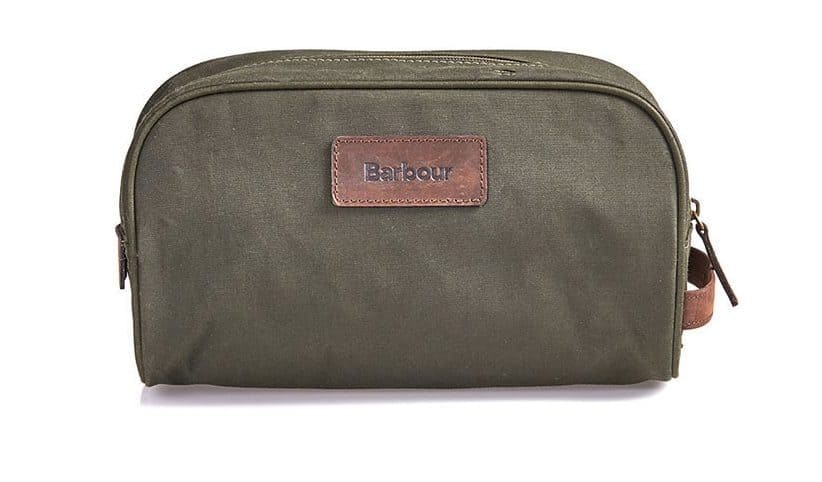 Summer style essential Barbour washbag