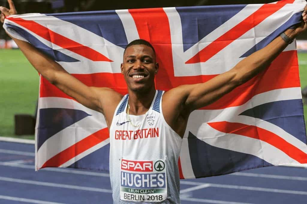 European 100 metre Gold Medallist Zharnel Hughes Talks About Life in the Fast Lane