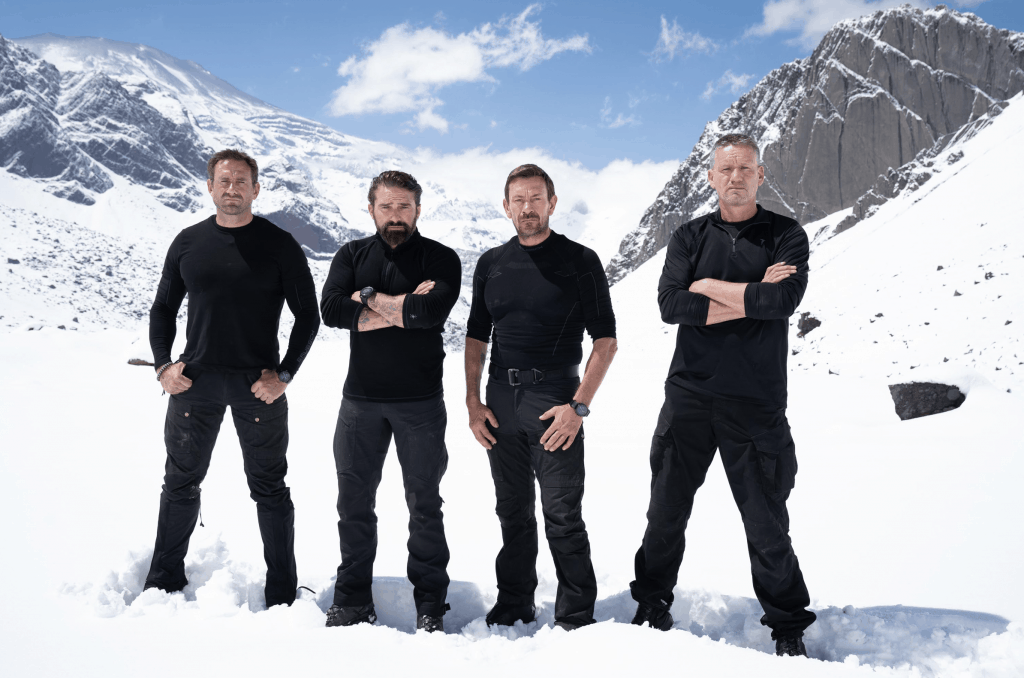 The Directing Staff of SAS who dares wins - Jason, Ant, Ollie & Billy
