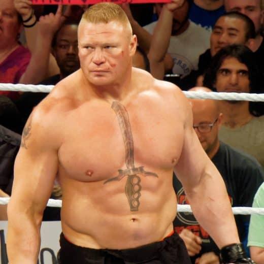 Brock Lesnar - Toughest man on the planet?