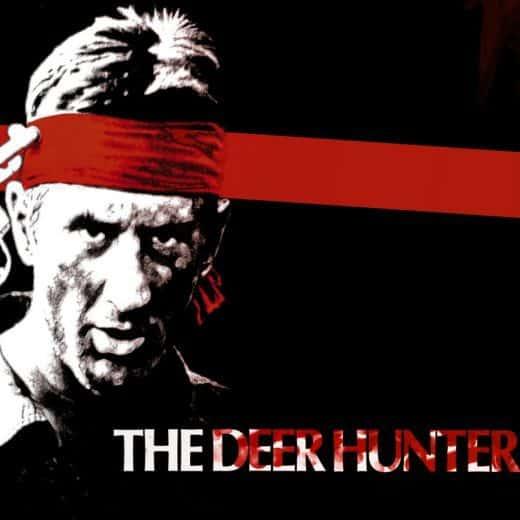 Poster for the film 'The Deer Hunter'