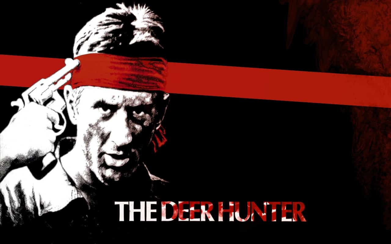 Poster for the film 'The Deer Hunter'