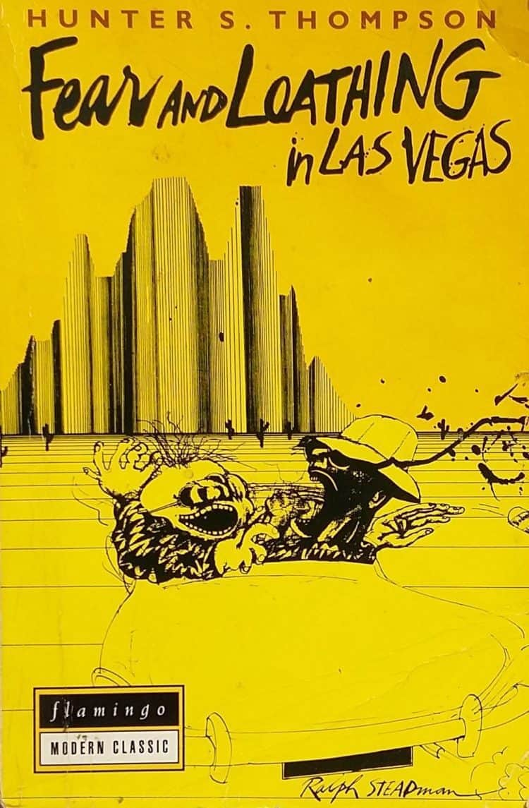 The cover of Fear and Loathing In Last Vegas by Hunter S. Thompson