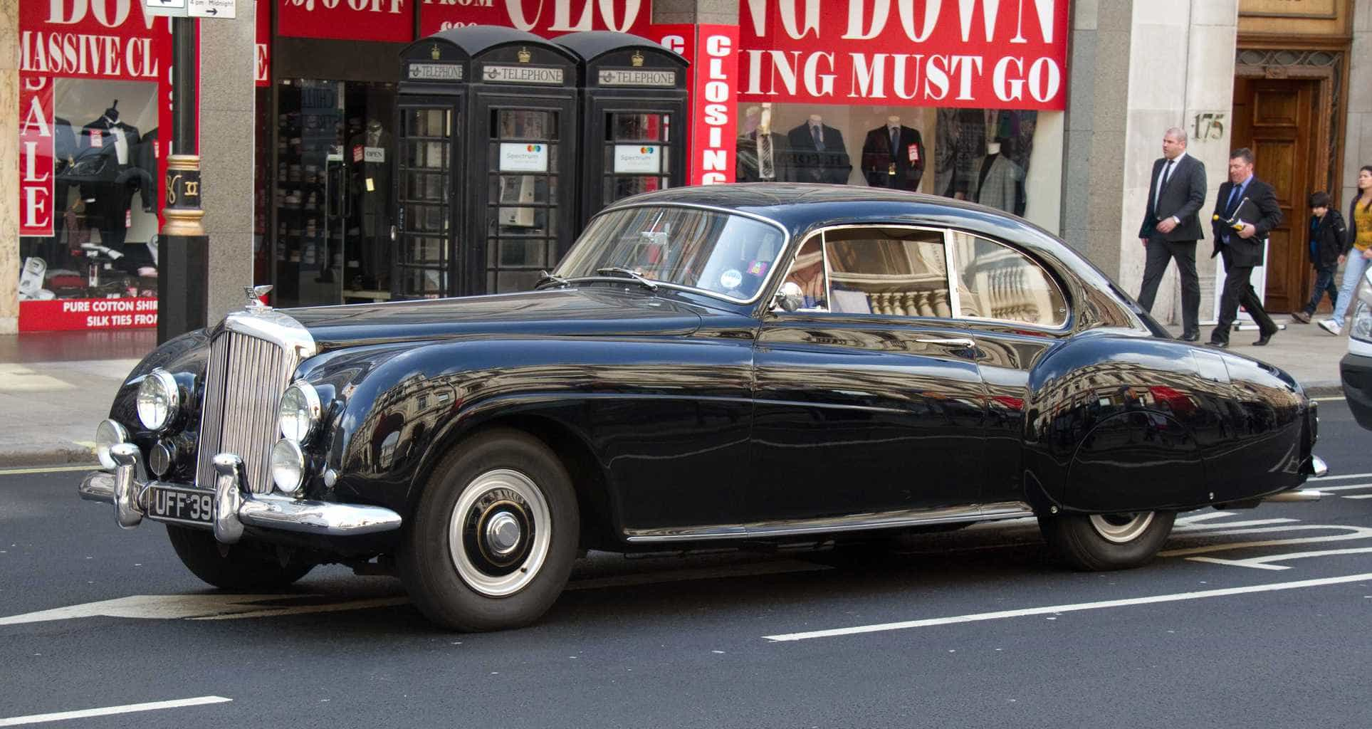 Bentley R Type Continental car