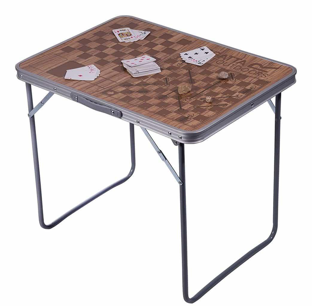 Regatta folding games table