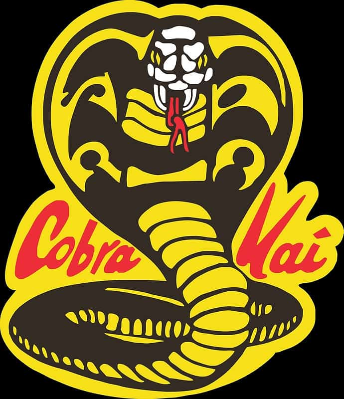Cobra Kai logo from The Karate Kid