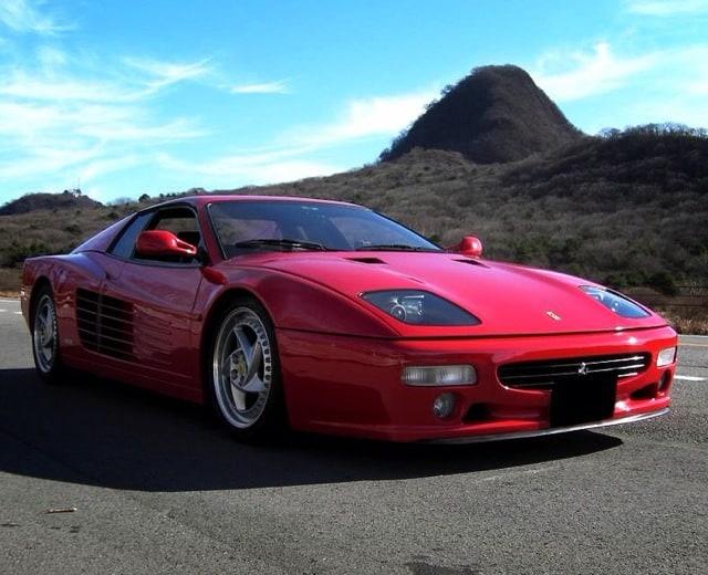 The Ferrari F512M