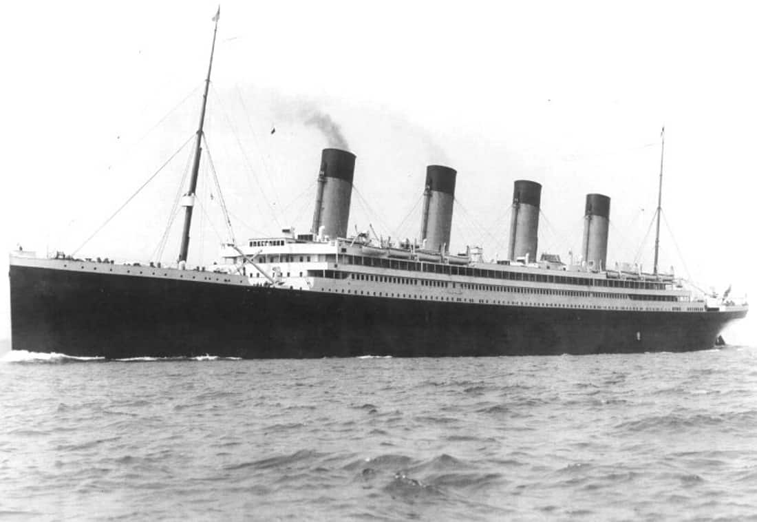 The Olympic liner