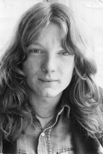 A young long haired Allan Jones
