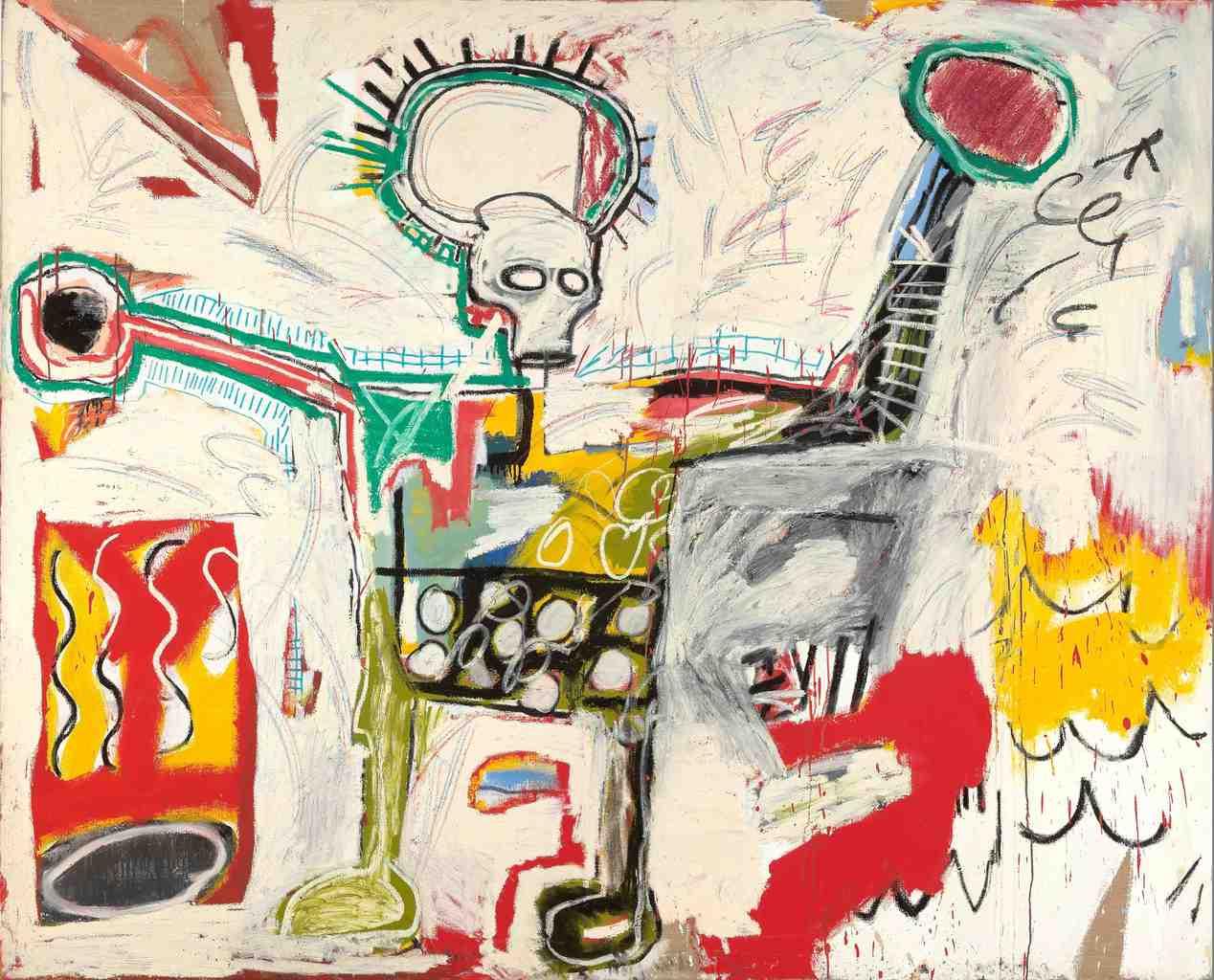 Jean-Michel Basquiat 'Untitled 1982'