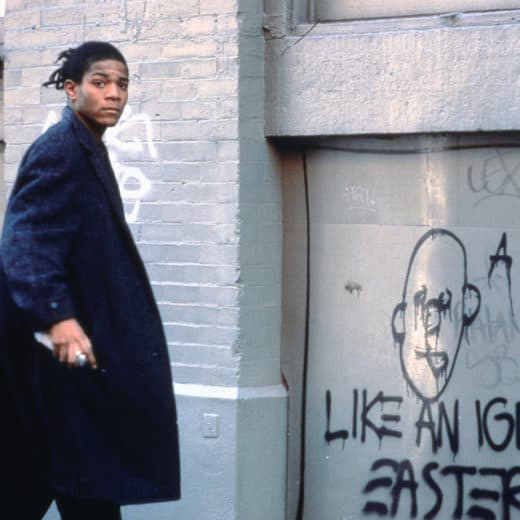 LIKE AN IGNORANT EASTER SUIT, Jean-Michel Basquiat on the set of Downtown 81, Edo Bertoglio ©New York Beat Film LLC