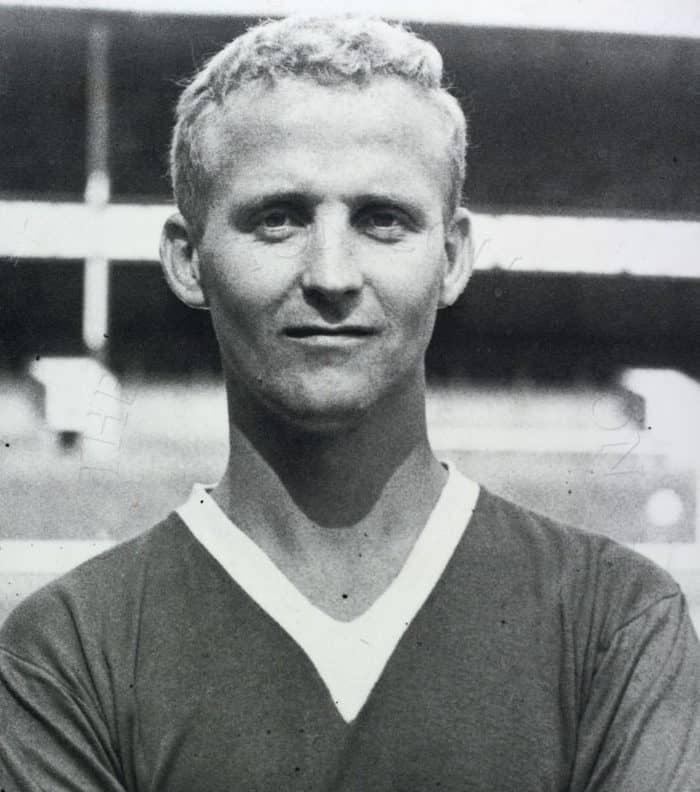 Footballer Alex Young