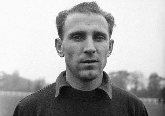 Footballer Nandor Hidegkuti
