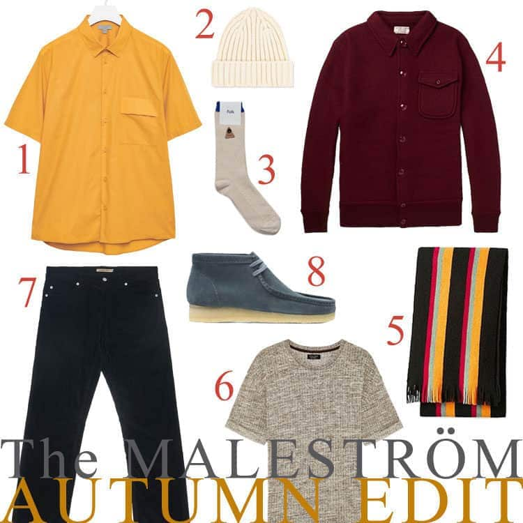 A collage of the latest Autumn fashion trends