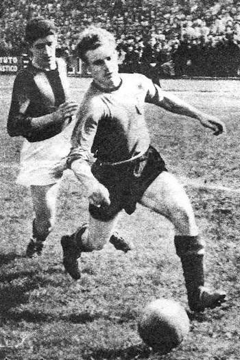 forgotten great Valentino Mazzola in action